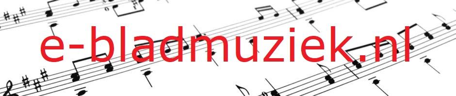 e-bladmuziek